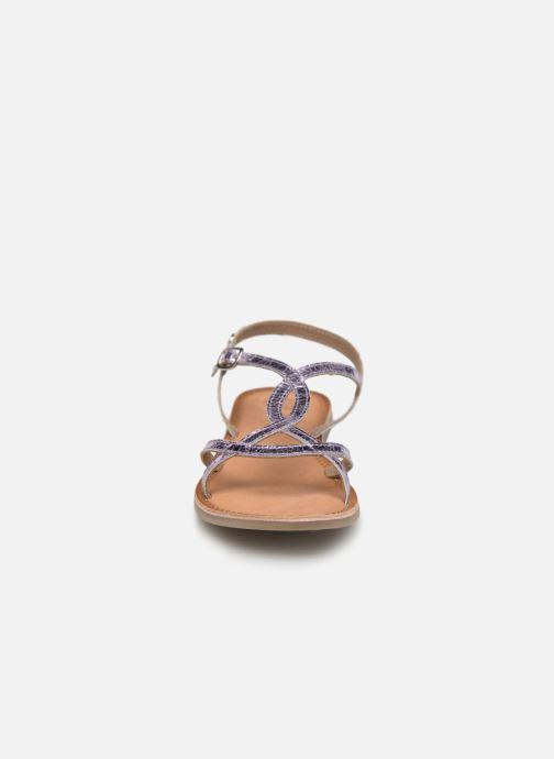 Sandales et nu-pieds Gioseppo CINISELLO Rose vue portées chaussures