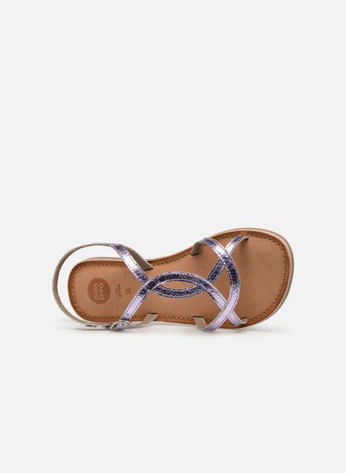 Sandales et nu-pieds Gioseppo CINISELLO Rose vue gauche