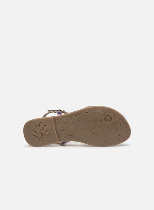 Sandales et nu-pieds Gioseppo CINISELLO Rose vue haut