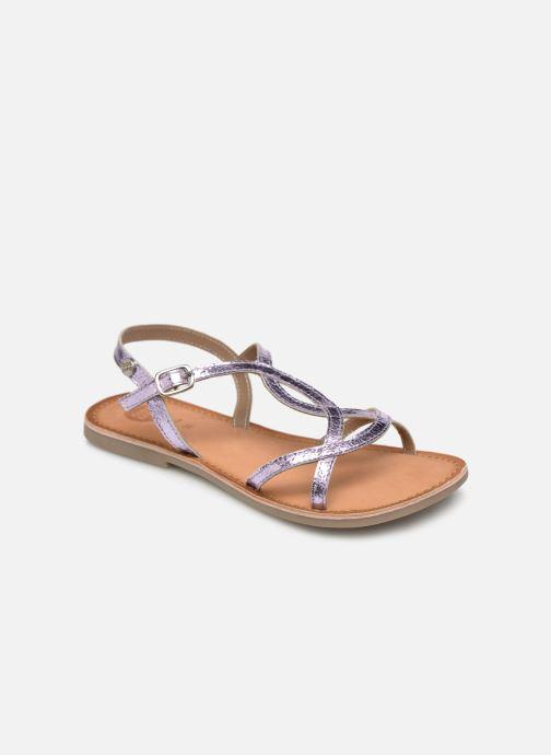 Sandales et nu-pieds Gioseppo CINISELLO Rose vue détail/paire