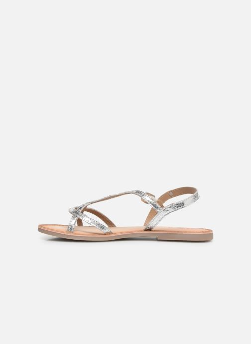 Sandals Gioseppo CINISELLO Silver front view