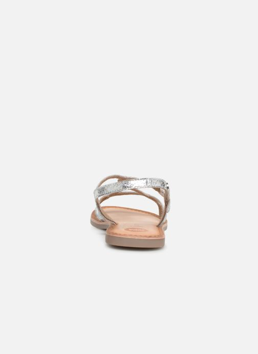 Sandals Gioseppo CINISELLO Silver view from the right