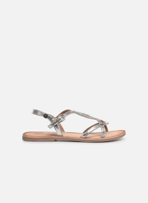 Sandals Gioseppo CINISELLO Silver back view