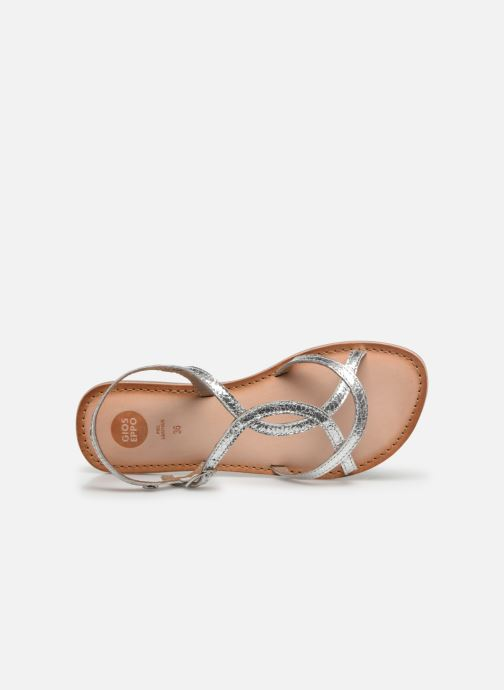 Sandals Gioseppo CINISELLO Silver view from the left