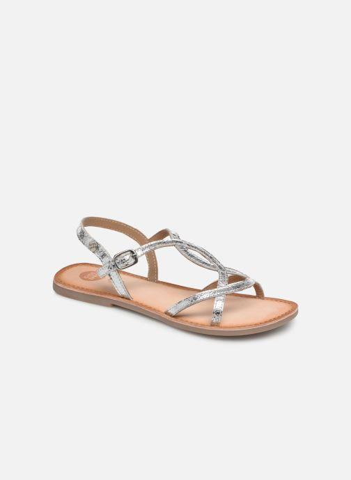 Sandals Gioseppo CINISELLO Silver detailed view/ Pair view