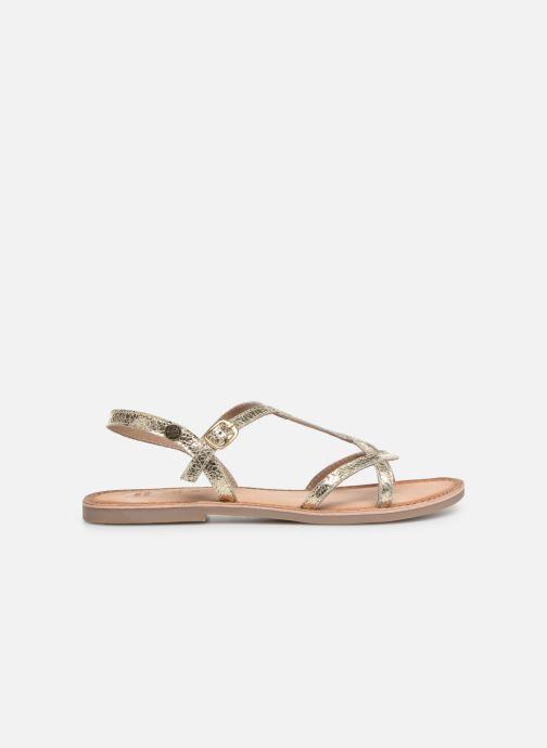 Sandales et nu-pieds Gioseppo CINISELLO Or et bronze vue derrière