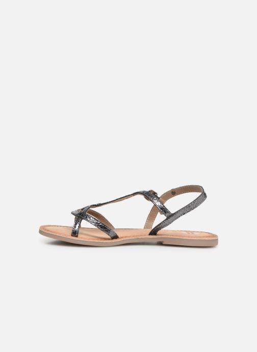 Sandales et nu-pieds Gioseppo CINISELLO Argent vue face