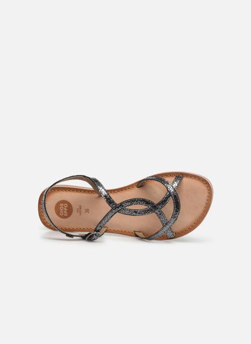 Sandales et nu-pieds Gioseppo CINISELLO Argent vue gauche