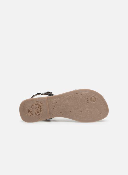 Sandales et nu-pieds Gioseppo CINISELLO Argent vue haut