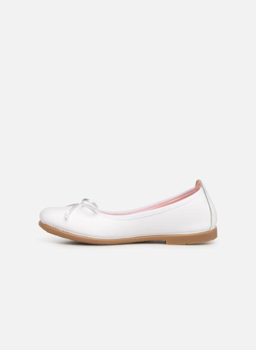 Ballerinas Gioseppo PENZA weiß ansicht von vorne