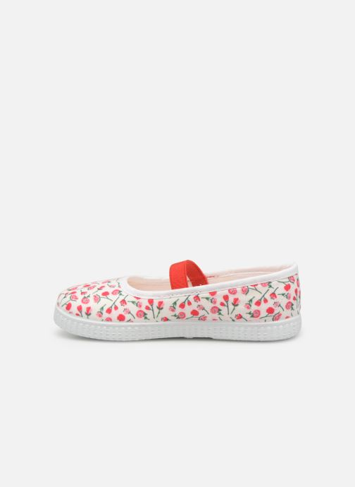 Ballerines Gioseppo ISSOIRE Rouge vue face