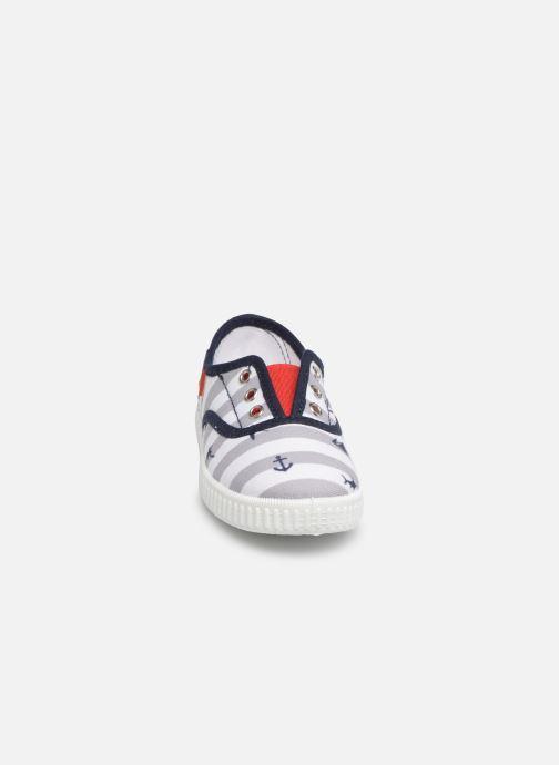 Sneakers Gioseppo LACANAU Azzurro modello indossato