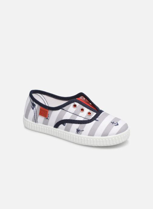 dd5f1c3b633 Sneakers Gioseppo LACANAU Blå detaljeret billede af skoene
