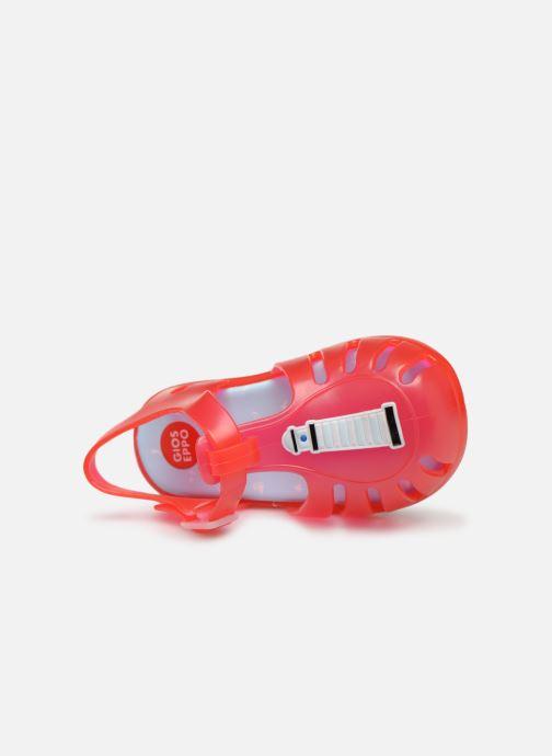 Sandali e scarpe aperte Gioseppo DRESDEN Rosso immagine sinistra