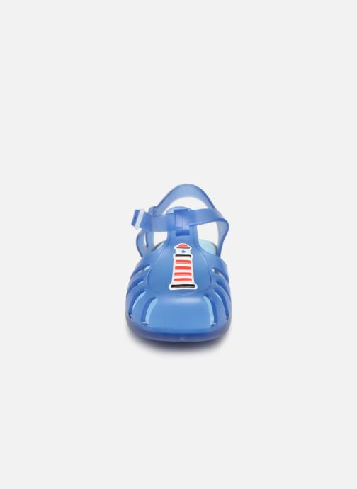 Sandales et nu-pieds Gioseppo DRESDEN Bleu vue portées chaussures
