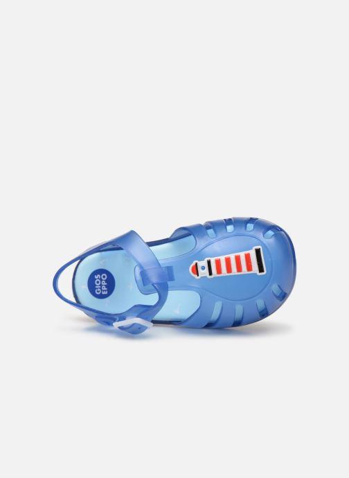 Sandales et nu-pieds Gioseppo DRESDEN Bleu vue gauche