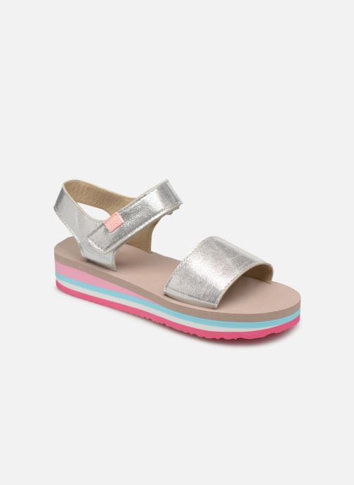 Sandals Gioseppo SANREMO Silver detailed view/ Pair view
