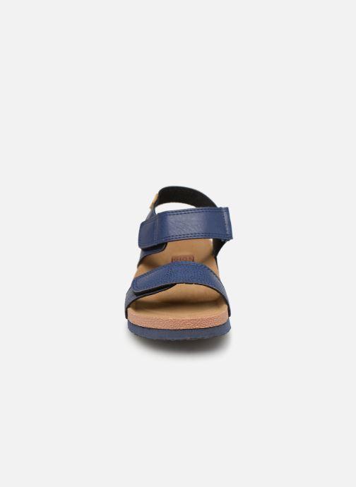 Sandales et nu-pieds Gioseppo KIEL Bleu vue portées chaussures