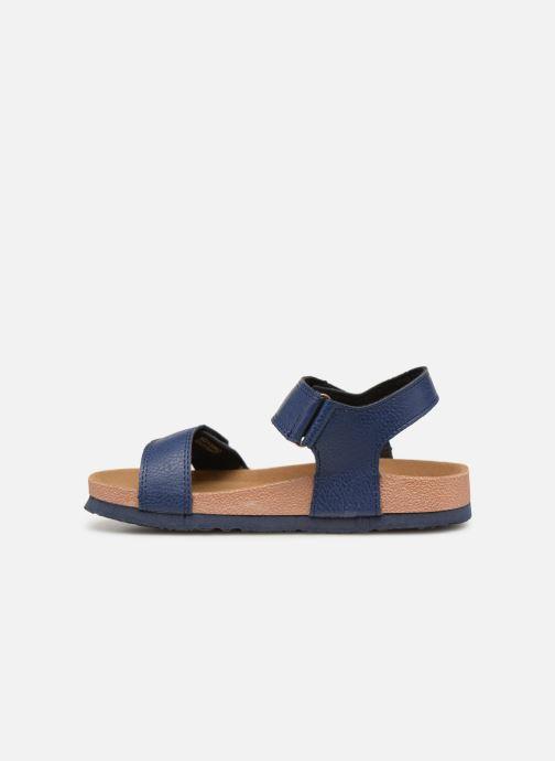 Sandales et nu-pieds Gioseppo KIEL Bleu vue face