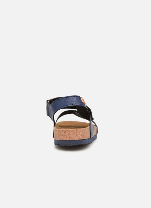 Sandales et nu-pieds Gioseppo KIEL Bleu vue droite
