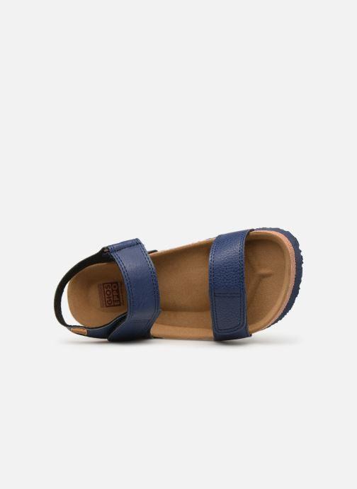 Sandales et nu-pieds Gioseppo KIEL Bleu vue gauche