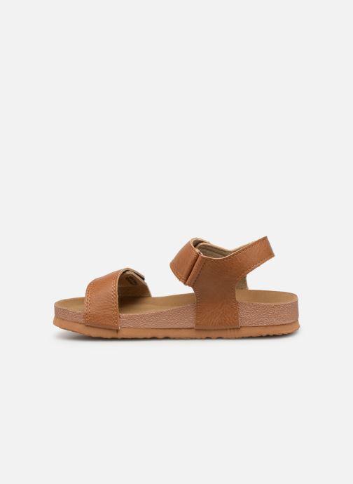 Sandales et nu-pieds Gioseppo KIEL Marron vue face