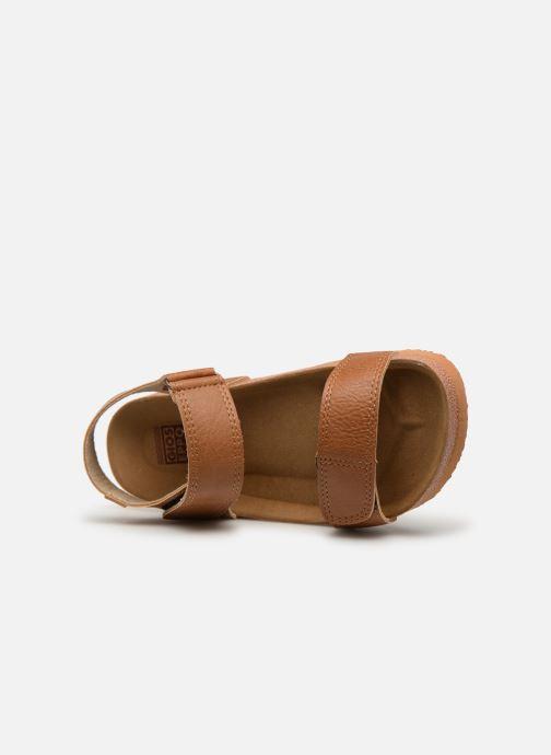 Sandales et nu-pieds Gioseppo KIEL Marron vue gauche