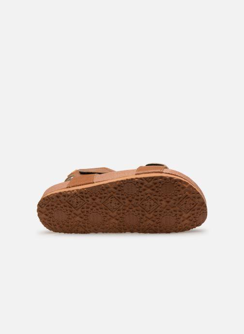 Sandales et nu-pieds Gioseppo KIEL Marron vue haut