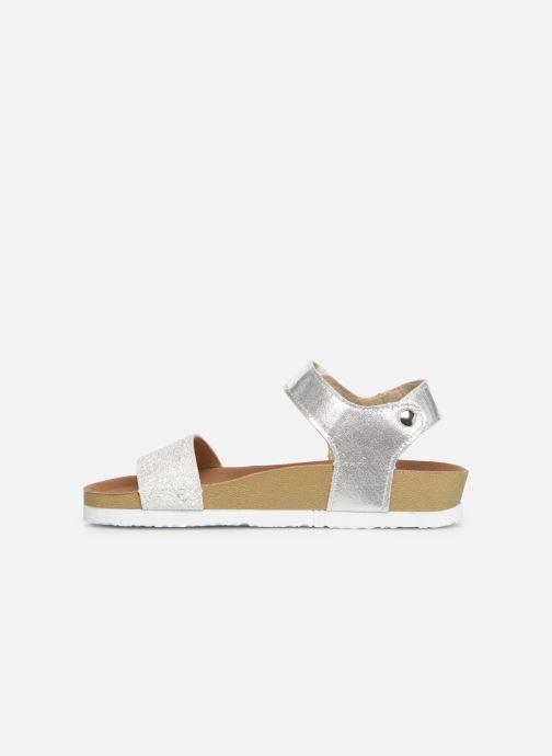 Sandales et nu-pieds Gioseppo MOERS Argent vue face