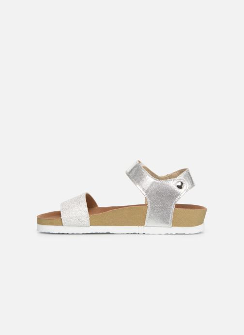 Sandals Gioseppo MOERS Silver front view