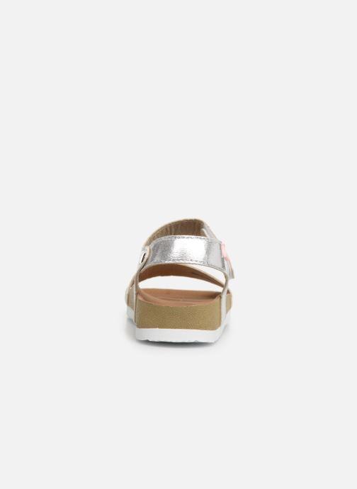 Sandales et nu-pieds Gioseppo MOERS Argent vue droite