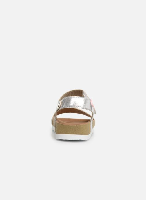 Sandals Gioseppo MOERS Silver view from the right
