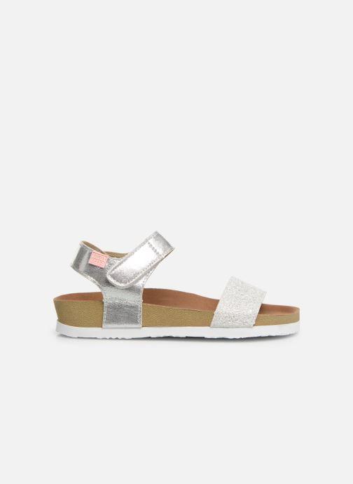 Sandales et nu-pieds Gioseppo MOERS Argent vue derrière