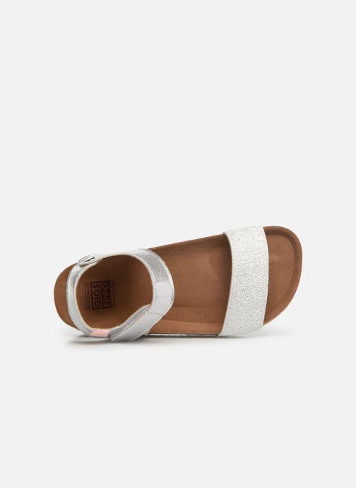 Sandales et nu-pieds Gioseppo MOERS Argent vue gauche