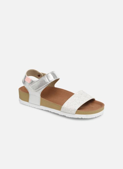 Sandals Gioseppo MOERS Silver detailed view/ Pair view