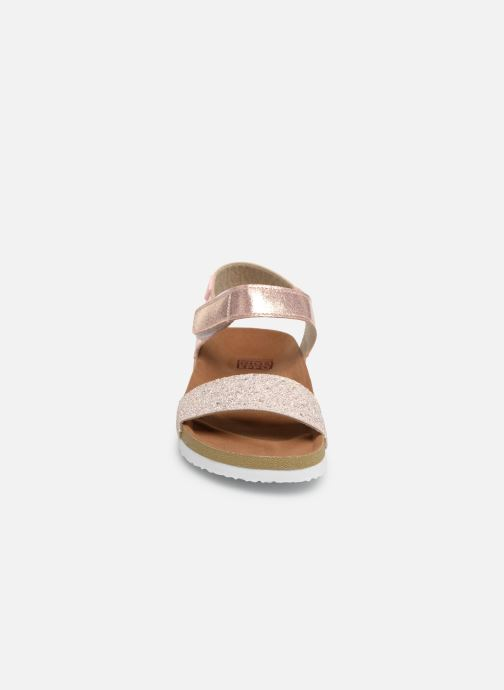 Sandales et nu-pieds Gioseppo MOERS Rose vue portées chaussures