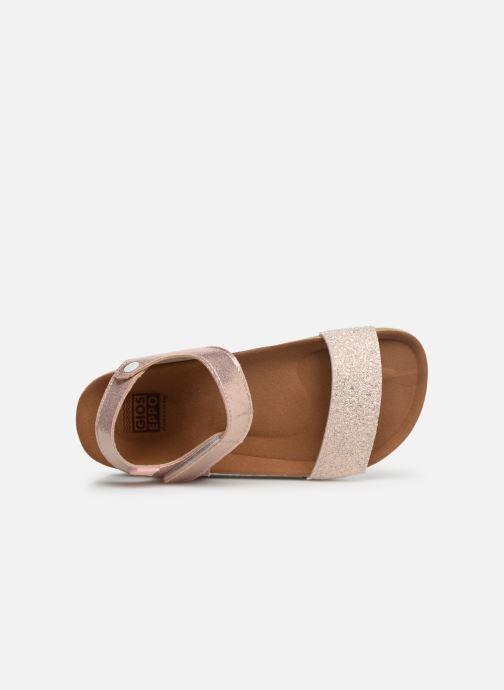 Sandales et nu-pieds Gioseppo MOERS Rose vue gauche