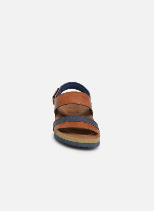 Sandales et nu-pieds Gioseppo HAGEN Marron vue portées chaussures