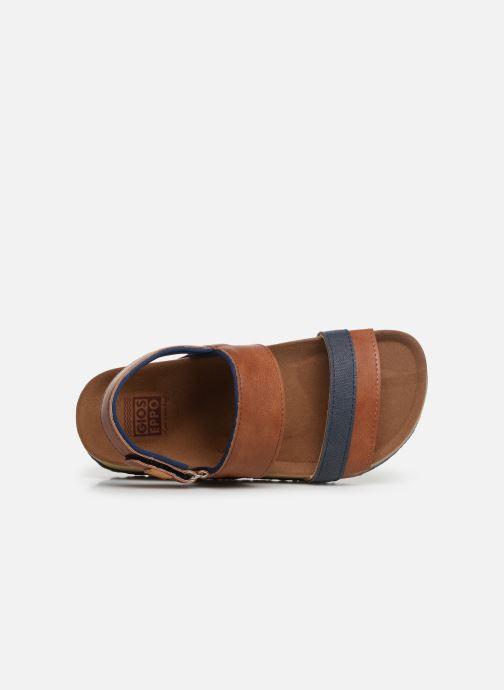 Sandales et nu-pieds Gioseppo HAGEN Marron vue gauche