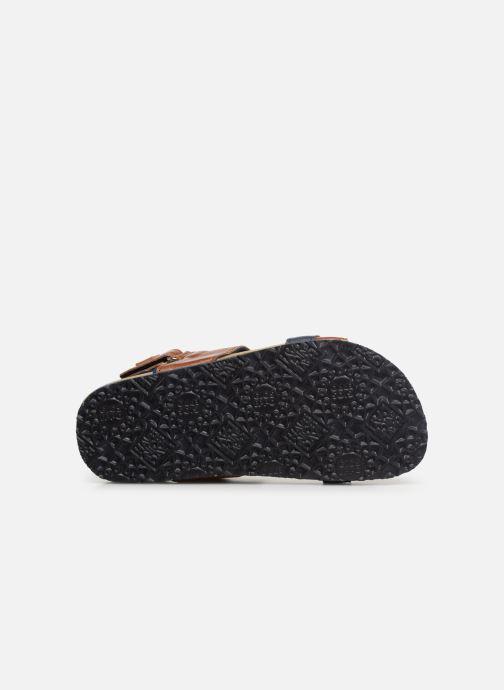 Sandales et nu-pieds Gioseppo HAGEN Marron vue haut