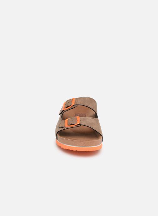 Sandalen Gioseppo 43145 braun schuhe getragen