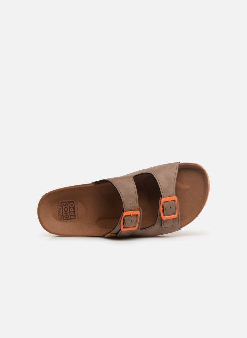Sandales et nu-pieds Gioseppo 43145 Marron vue gauche
