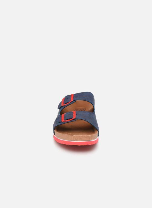Sandales et nu-pieds Gioseppo 43145 Bleu vue portées chaussures