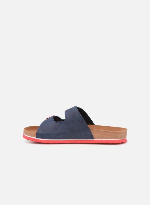 Sandalen Gioseppo 43145 blau ansicht von vorne