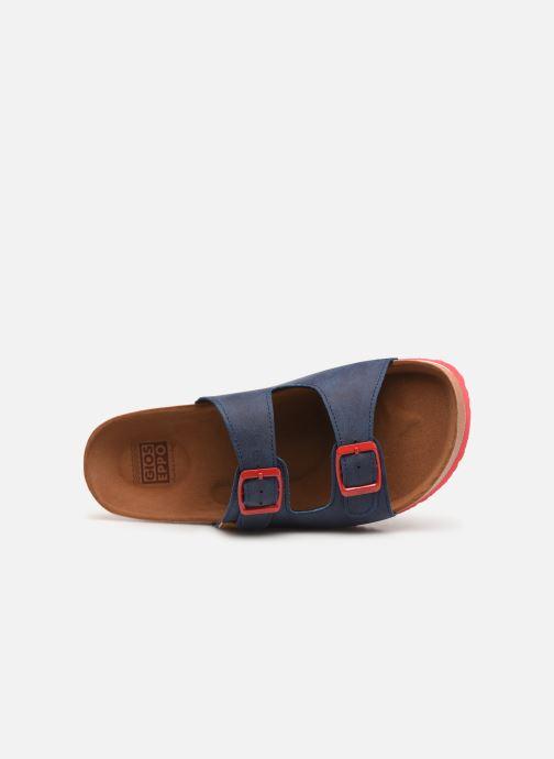 Sandalen Gioseppo 43145 blau ansicht von links
