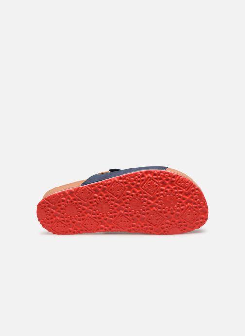 Sandalen Gioseppo 43145 blau ansicht von oben