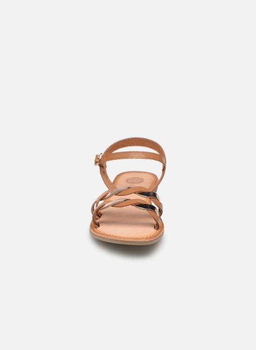 Sandalen Gioseppo SCANDICCI braun schuhe getragen