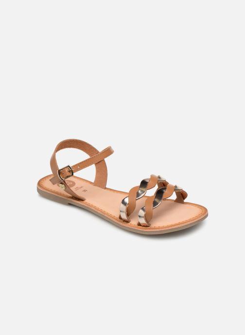 Sandales et nu-pieds Gioseppo SCANDICCI Marron vue détail/paire
