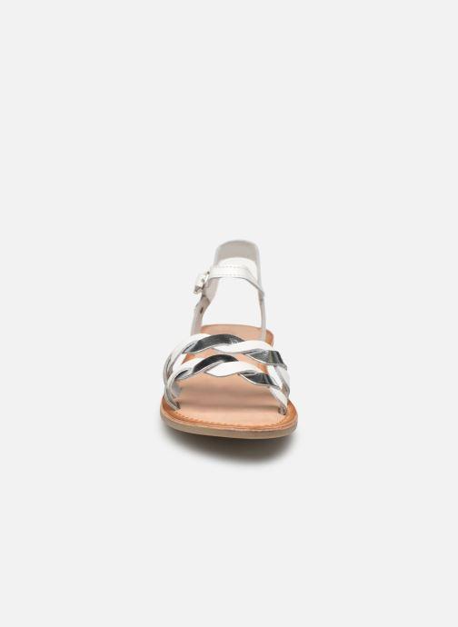 Sandales et nu-pieds Gioseppo SCANDICCI Blanc vue portées chaussures
