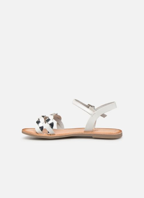 Sandales et nu-pieds Gioseppo SCANDICCI Blanc vue face